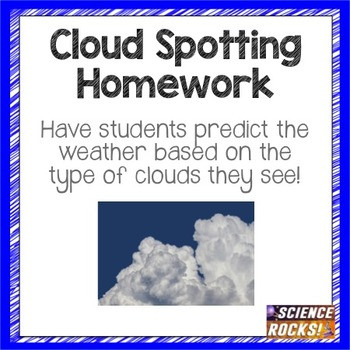 Clouds and Weather Worksheet