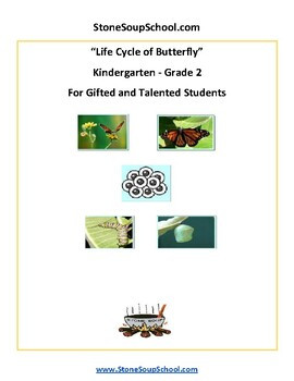 Gifted and Talented Kindergarten Worksheets