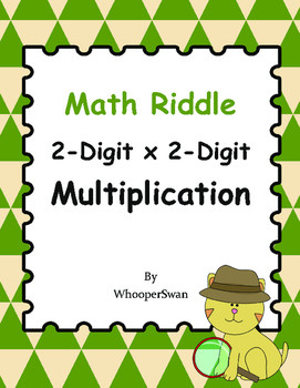 Multiplication by 2 Digits Worksheets