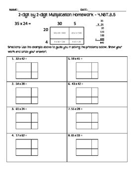 Multiplication Worksheets by 2