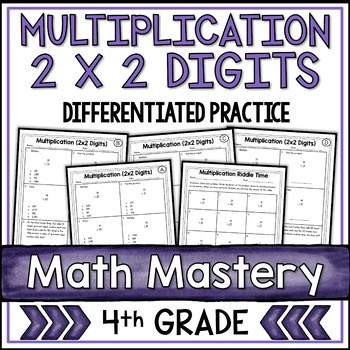 Multiplying by 2 Digits Worksheets