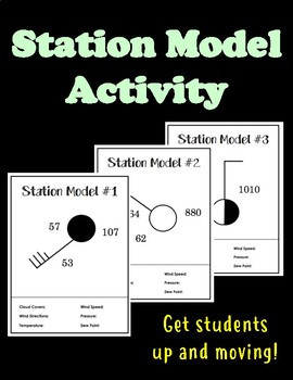 Weather Station Model Worksheet Answers