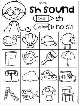 Free Digraph Worksheets ch th sh