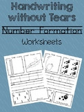 Handwriting without Tears Free Worksheets
