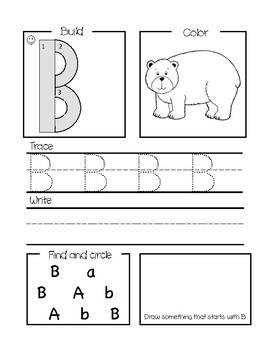 Handwriting without Tears Worksheet