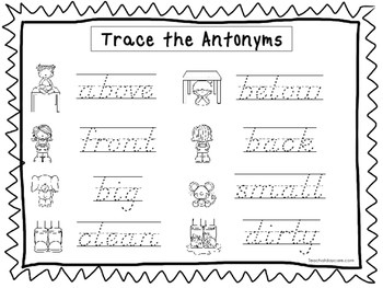 Handwriting Worksheets for Second Grade