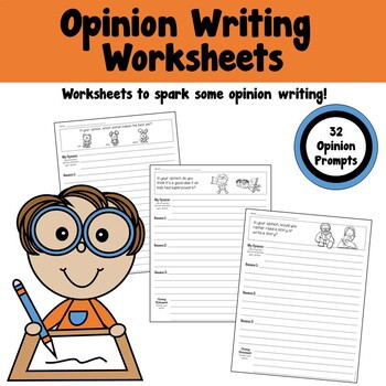 Opinion Writing Worksheets 3rd Grade