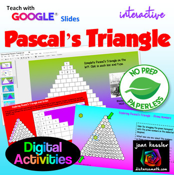 Pascal Triangle Activity Worksheet