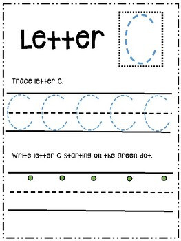Tracing the Alphabet Worksheets