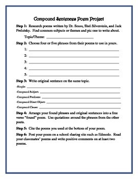 Writing A Complete Sentence Worksheets
