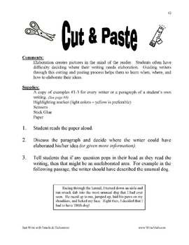Writing Worksheets for 6th Grade