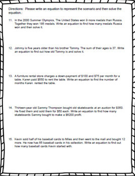 Writing Worksheets for 7th Graders